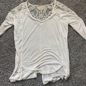 Free People White Lace